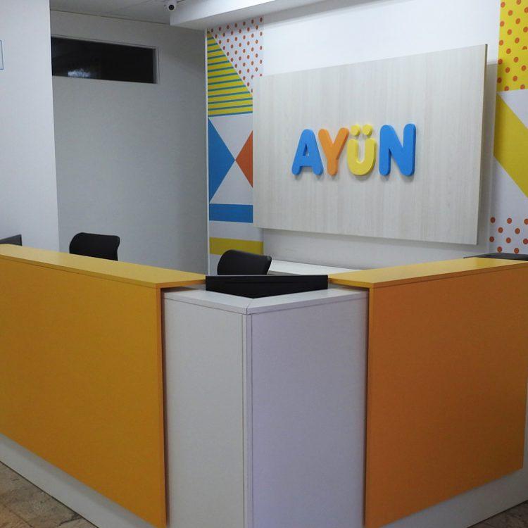 Logo corpóreo Centro Ayun